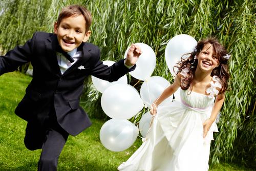 costume enfants mariage